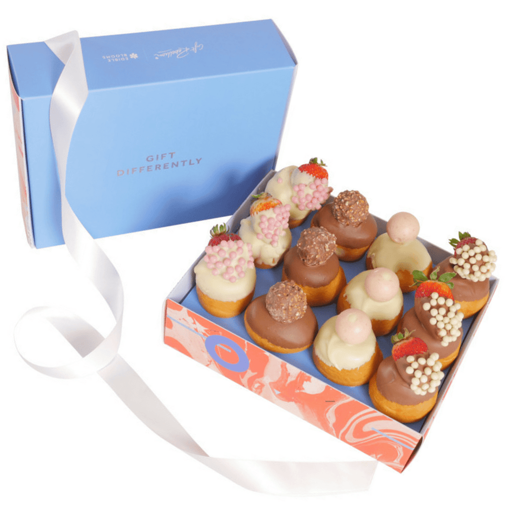 Ultimate Donut and Strawberry Gift Box