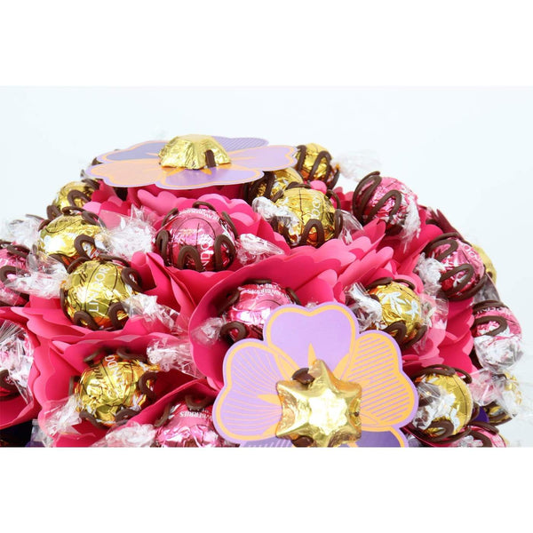#1 Mum Blush Luxury Chocolate Bouquet