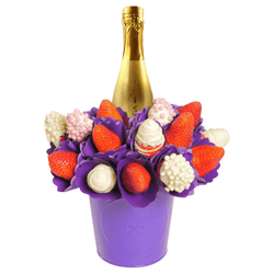 Strawberry and Prosecco Bouquet - central London only