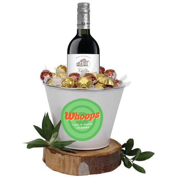 Whoops I Did It Again Red Wine Mega Bucket