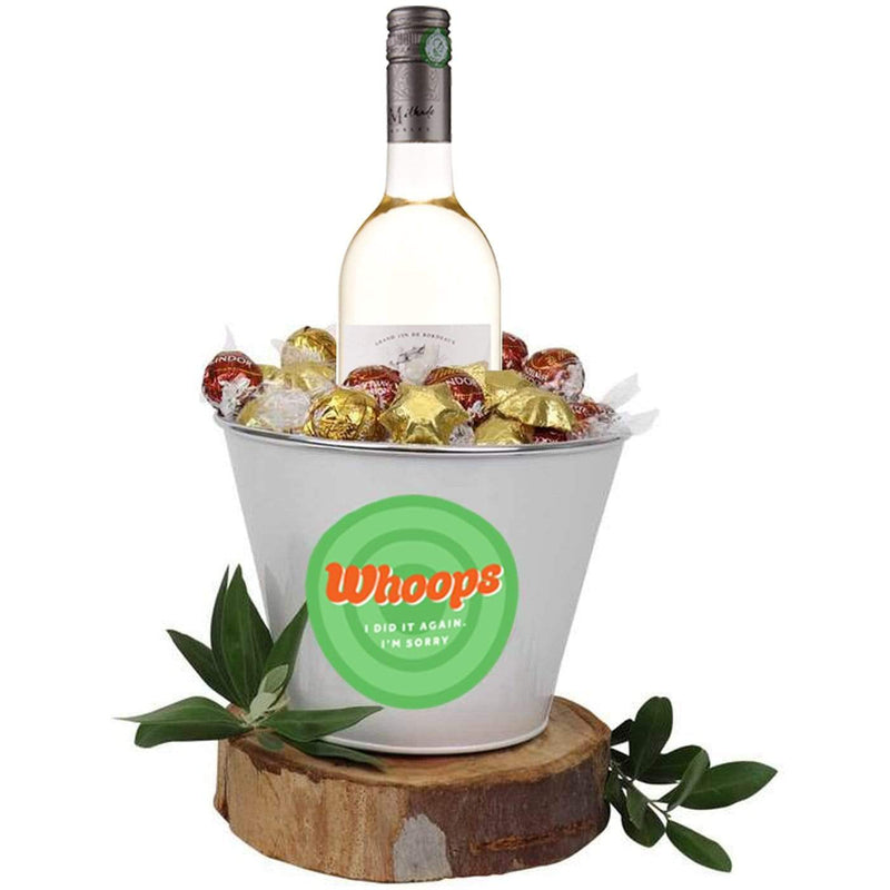 Whoops I Did It Again White Wine Mega Bucket