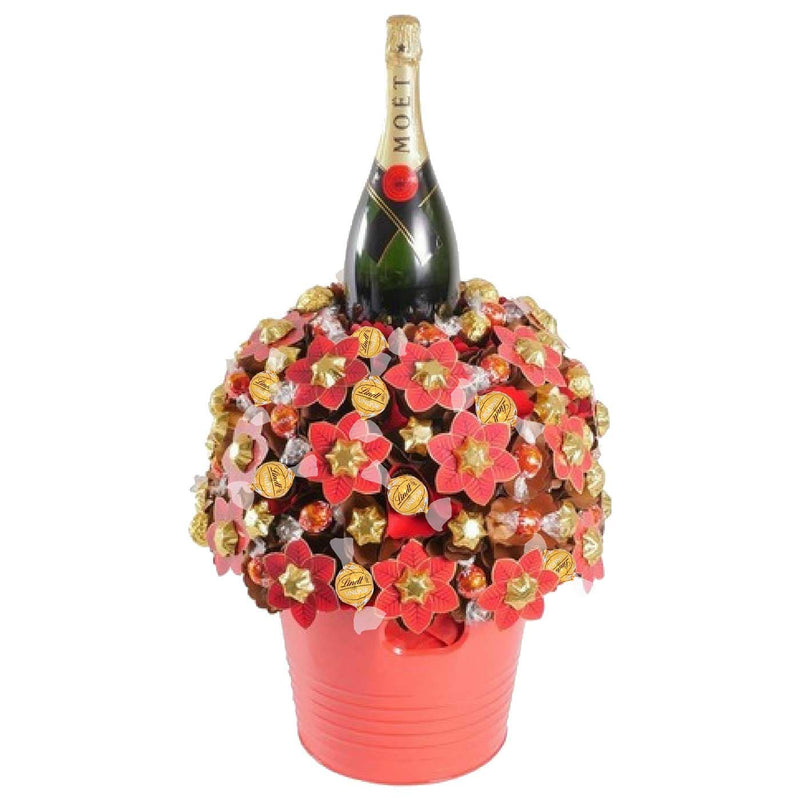 Moet Magnum Christmas Chocolate Bouquet