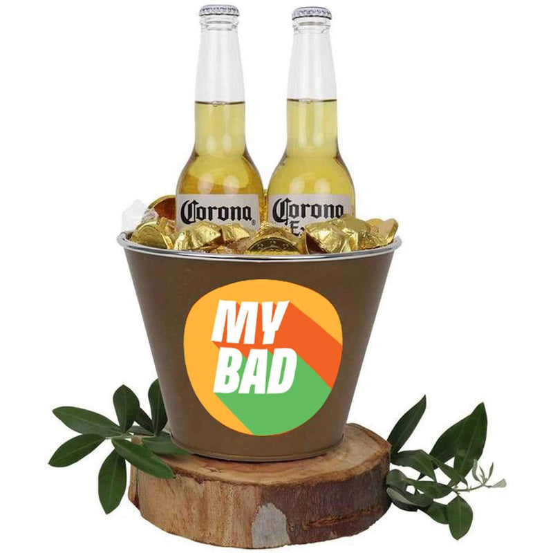 My Bad Mega Corona Bucket