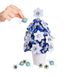 Large Snowflake Christmas Tree Refill - 43 Chocolates