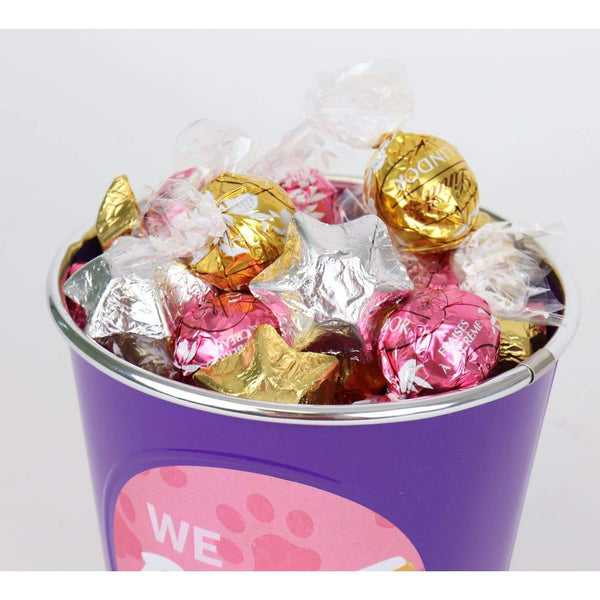 'Home is wherever you are' Choc Bucket