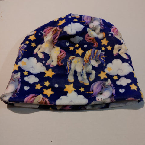 Tuque / Large minky licorne / Hiver