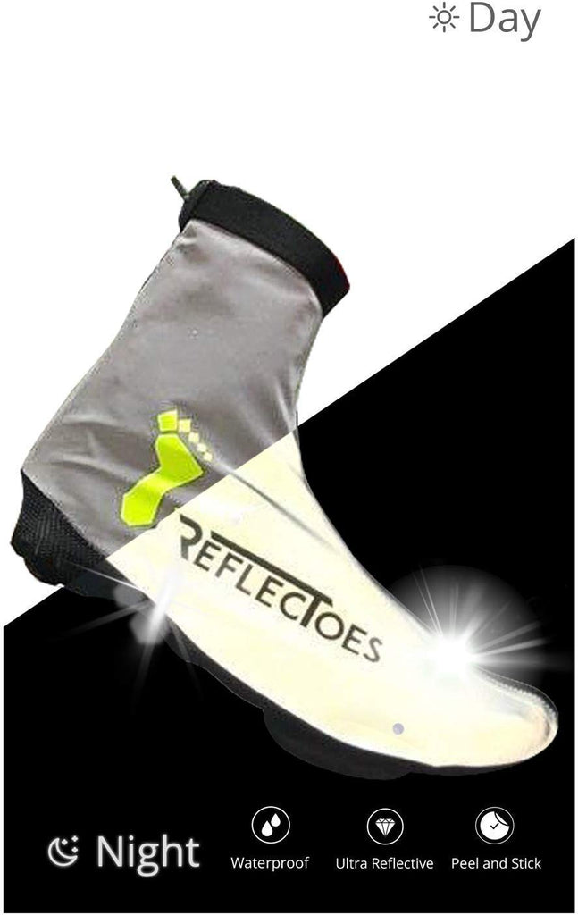 Full Reflective Winter Bike Shoe Covers for Men & Women