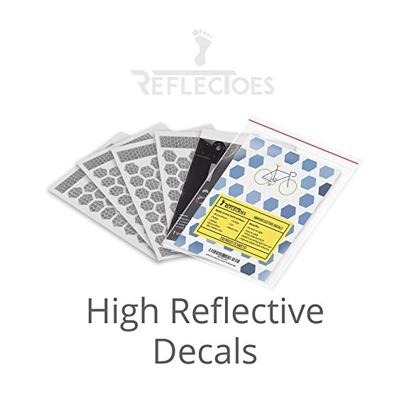 Reflective Stickers - Peel and Stick Decals for Hard Surfaces