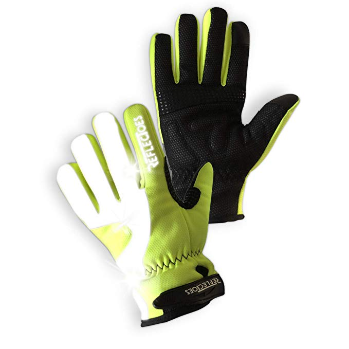 Reflectoes Fluorescent Reflective Gloves