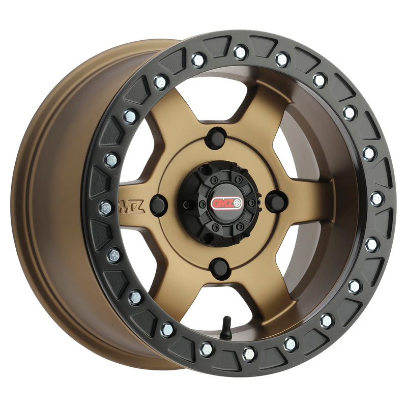 GMZ Casino Beadlock Wheel Bronze