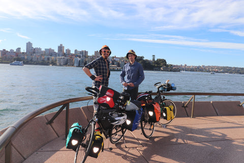 Photo shoot down in Circular Quay Sydney
