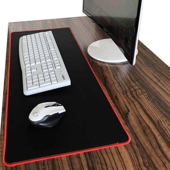 Black Gaming Mouse Pad
