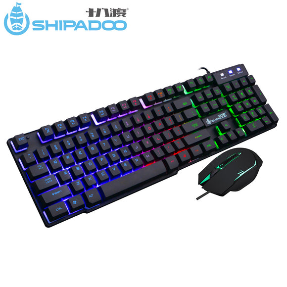 Shipadoo K500 Gaming Keyboard and Mouse
