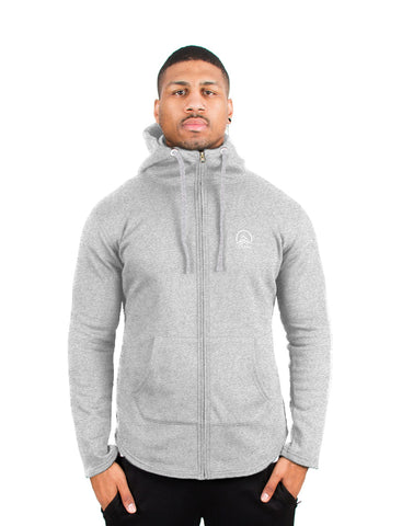 Aubrey x Light Grey - Hooded Jacket