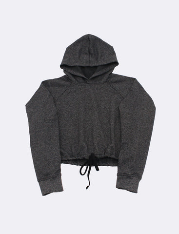 Leighton x Black Rock - Cropped Hoodie