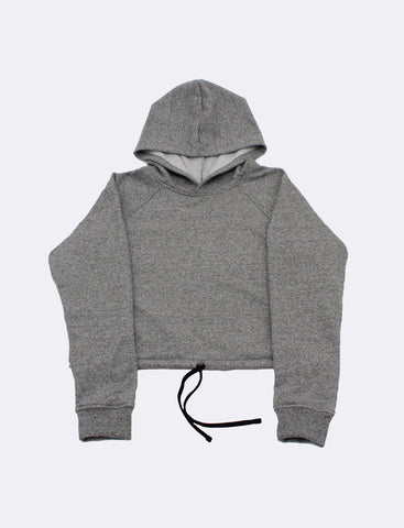 Leighton x Salt+Pepper - Cropped Hoodie