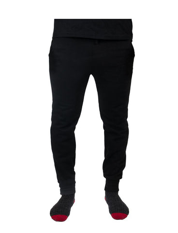 Reagan x Black - Skinny Fleece Sweatpant
