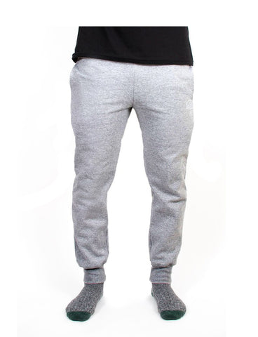 Reagan x Light Grey - Skinny Fleece Sweatpant