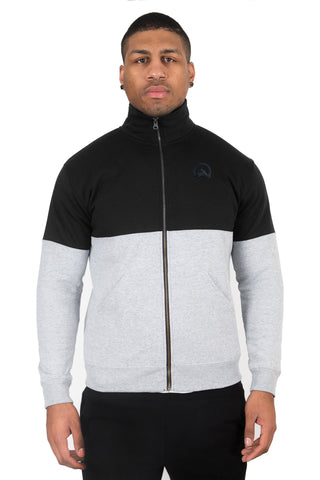 Bailey x Grey+Black - Full-Zip Jacket