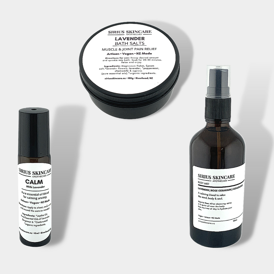 all natural lavender skincare