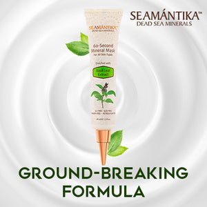 Seamantika 60second Mineral Mask - Basil Leaf Extract (All skin type)