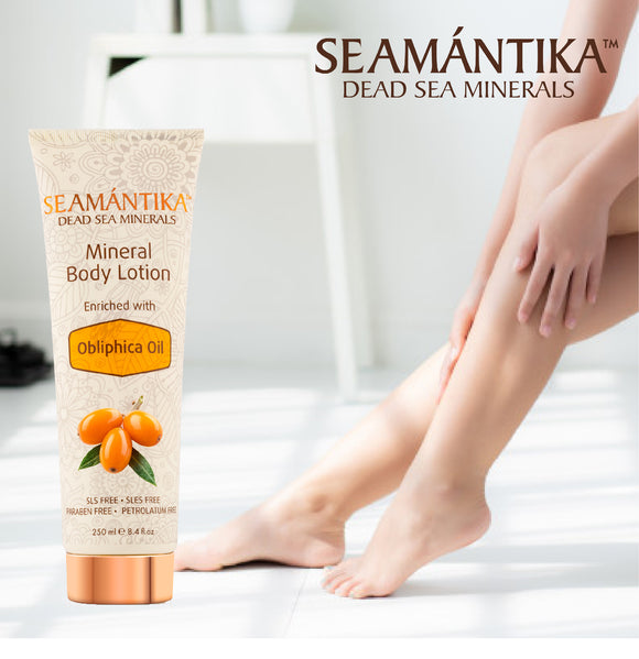 Seamantika Mineral Body Lotion - Obliphica Oil