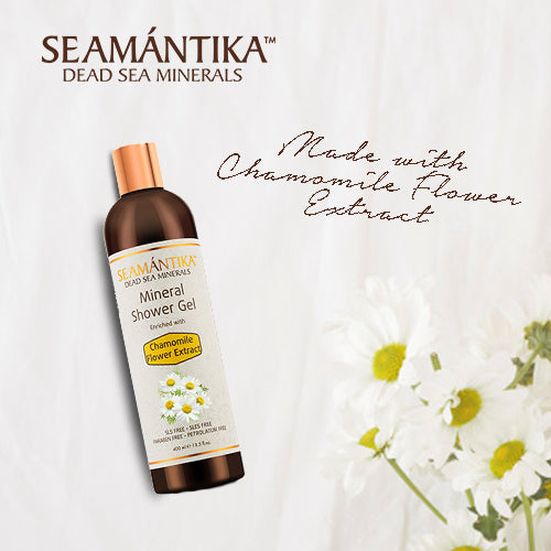 Seamantika Mineral Shower Gel - Chamomile Flower Extract