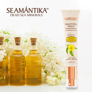 Seamantika Rejuvenating Mineral Facial Serum - Evening Primrose Oil (normal to dry skin)