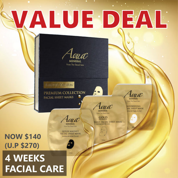 Value Deal: Aqua Mineral 4 week treatment mask