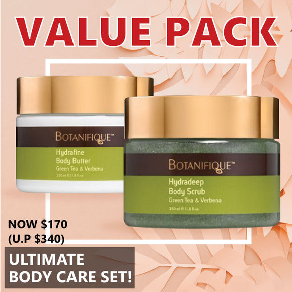 Value Pack: Botanifique Ultimate Body Care Set
