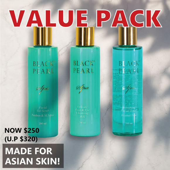 Value Pack: Made for asian skin total care
