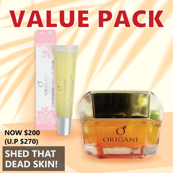 Value Pack: Shed That Skin, Lip balm + peeling gel