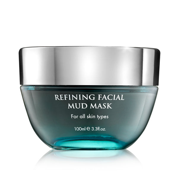 Refining Facial Mud Mask