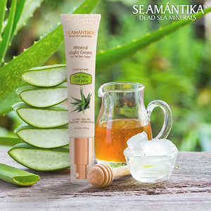 Seamantika Mineral Night Cream - Aloe Vera Leaf Juice