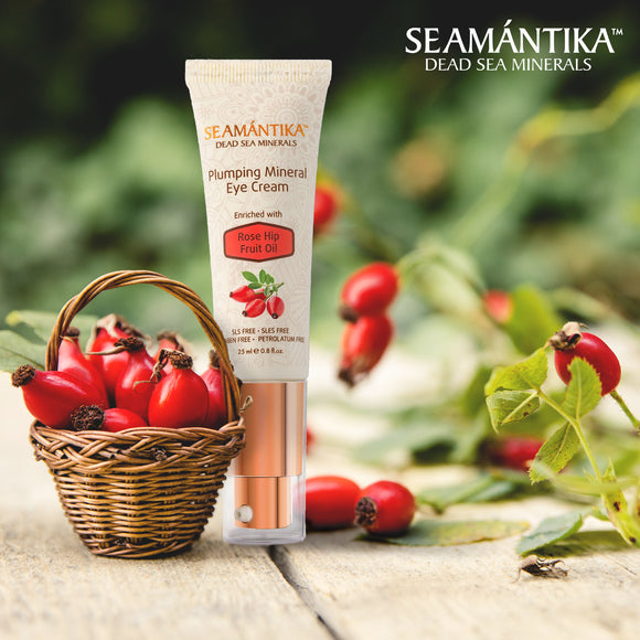 Seamantika Plumping Mineral Eye Cream - Rose Hip Fruit Oil