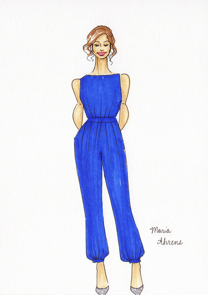 Live fashion illustration 10 by Maria Ahrens