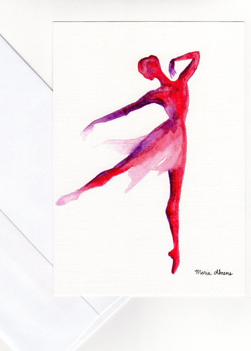 Ballet Dancer Mini Print