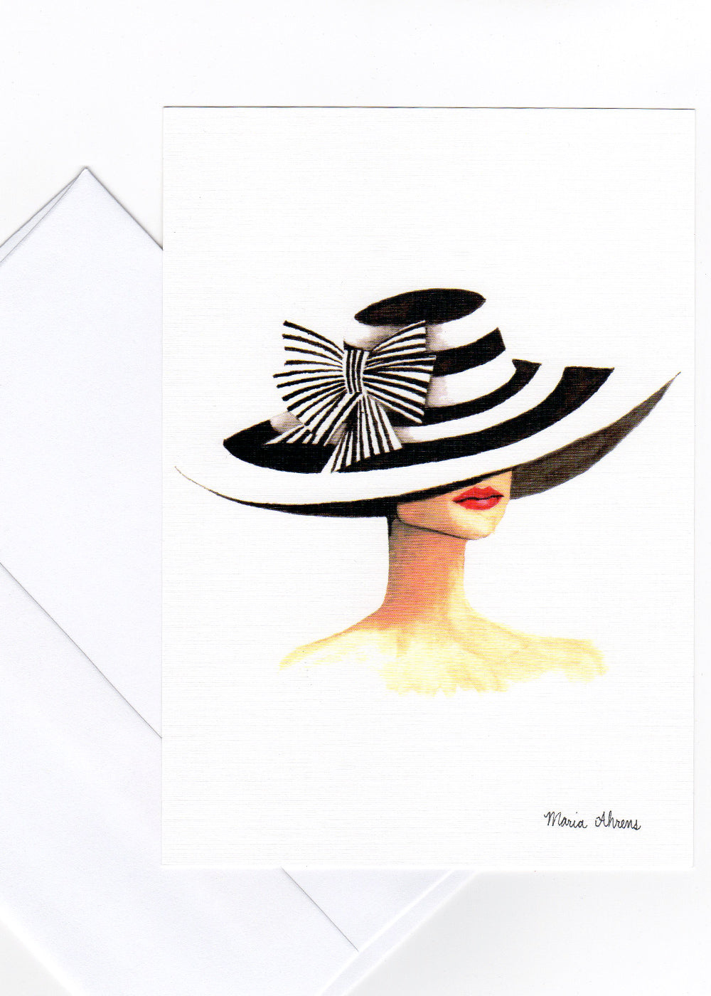 Derby Hat Mini Print
