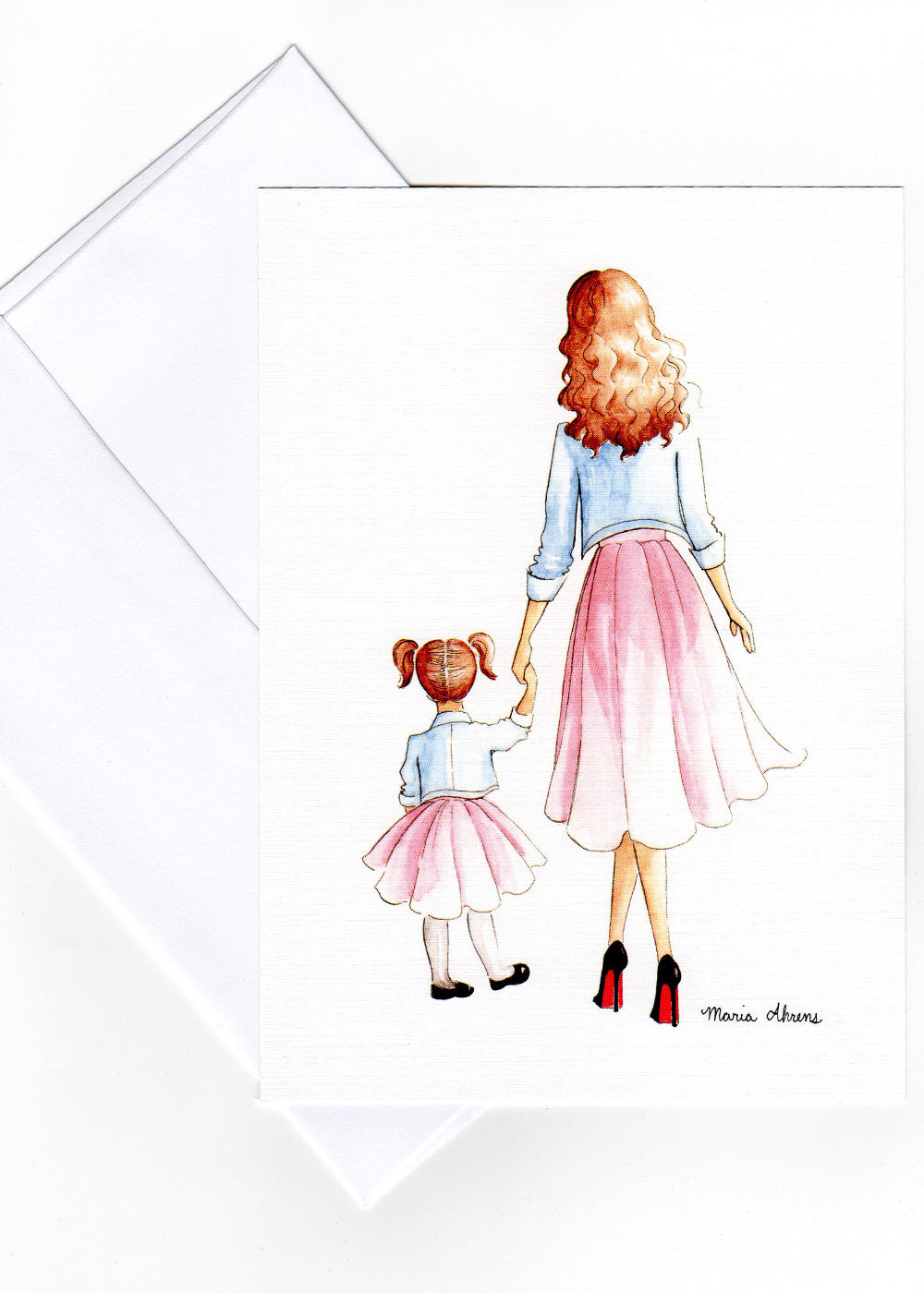 Mother Daughter Mini Print