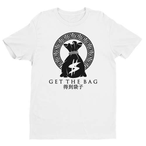 Freestyle Projectz #GetTheBag Men's T-Shirt (White)