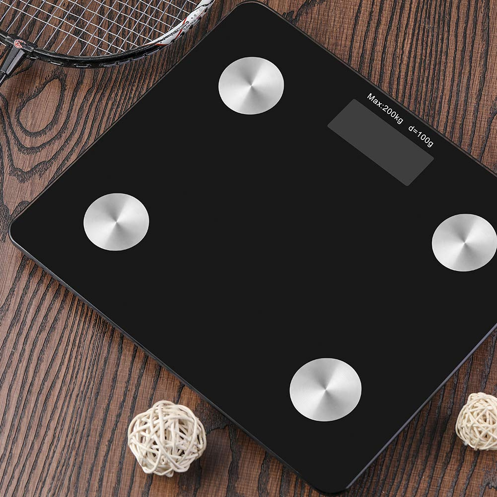 Digital Electronic Smart Bmi Fat Scale with Wifi & Bluetooth for Home Bath Weighing Measuring Scale