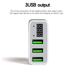 CYKE Universal 5V/3A USB Power Adapter Wall Portable Phone Charger For Iphone Huawei Samsung Xiaomi