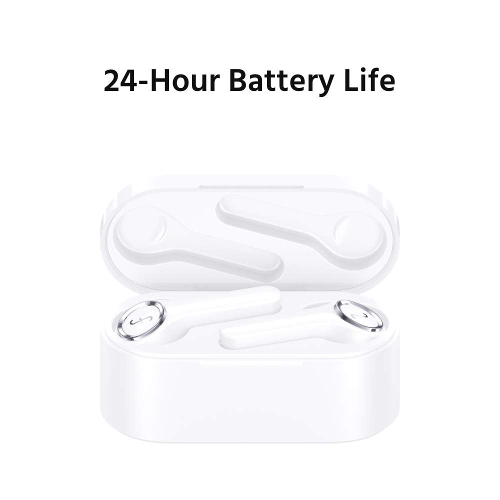 True Wireless Headphones Bluetooth 5.0 Wireless Earbuds Touch Control