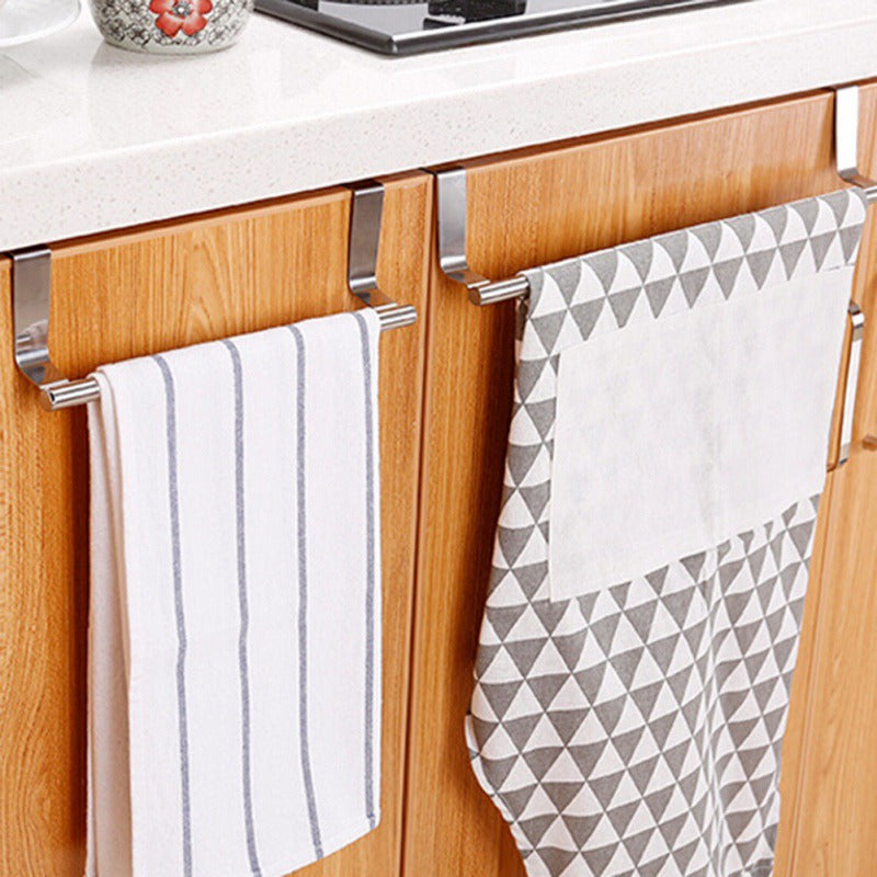Bathroom Door & Kitchen Towel Rack