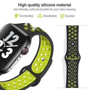 Apple Watch Band Soft Silicone Replacement Wristband Compatible for iWatch Apple Watch Series 1 2 3 4
