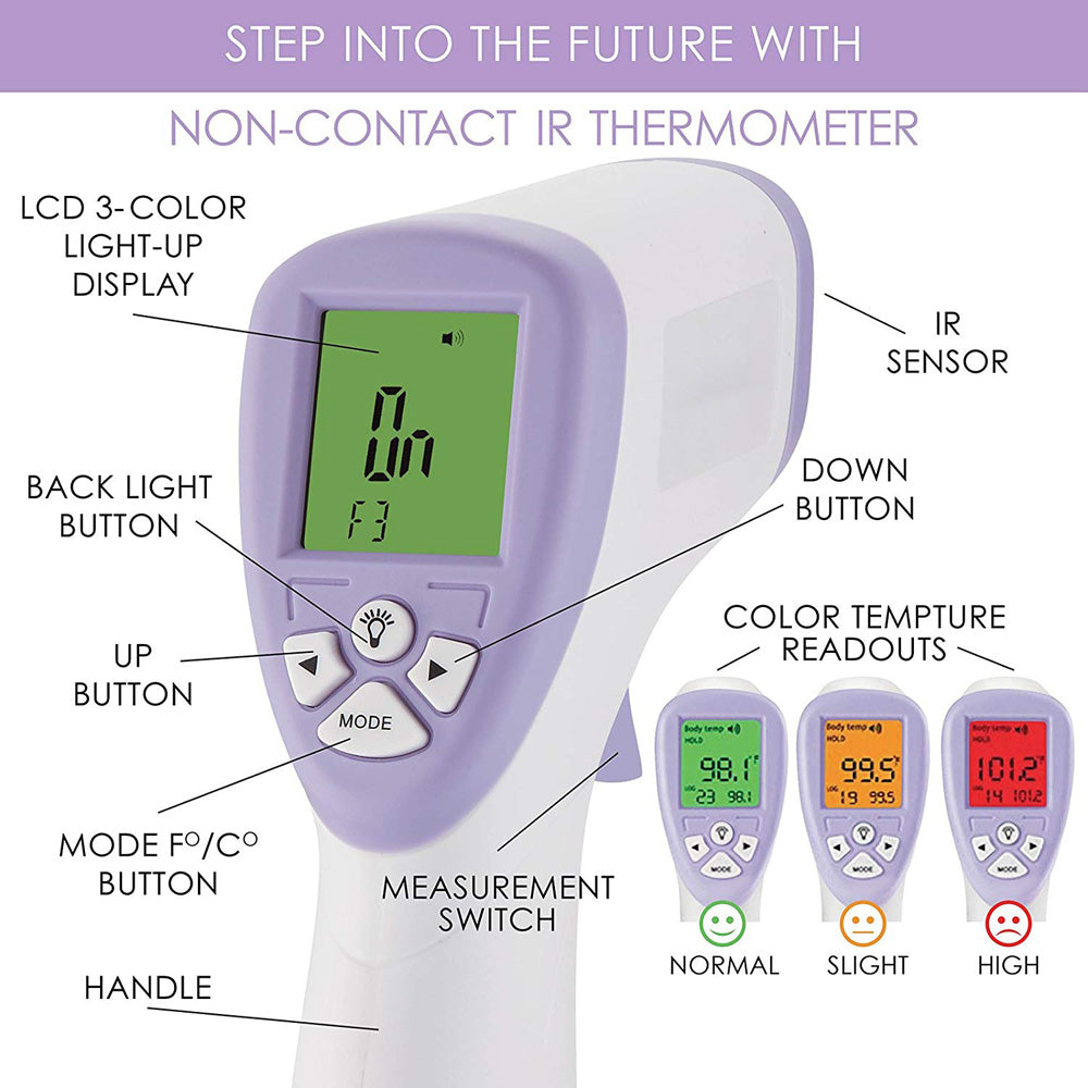 Infrared Forehead  Instant Read Non Contact Thermometer