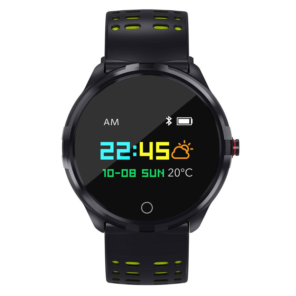 AY09 Wearable Bluetooth Running Fitness Tracker with Heart Rate Monitor IP68  Smart Watch