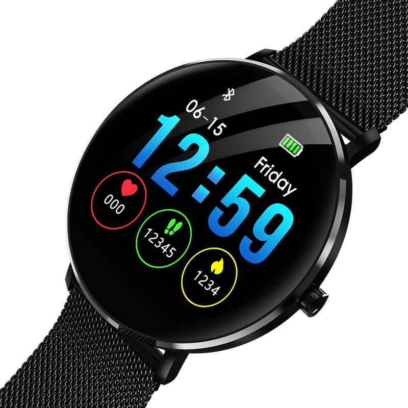 AY08 Waterproof Fitness Activity Tracker Bluetooth IP68 Smart Watch Compatible with Android iOS