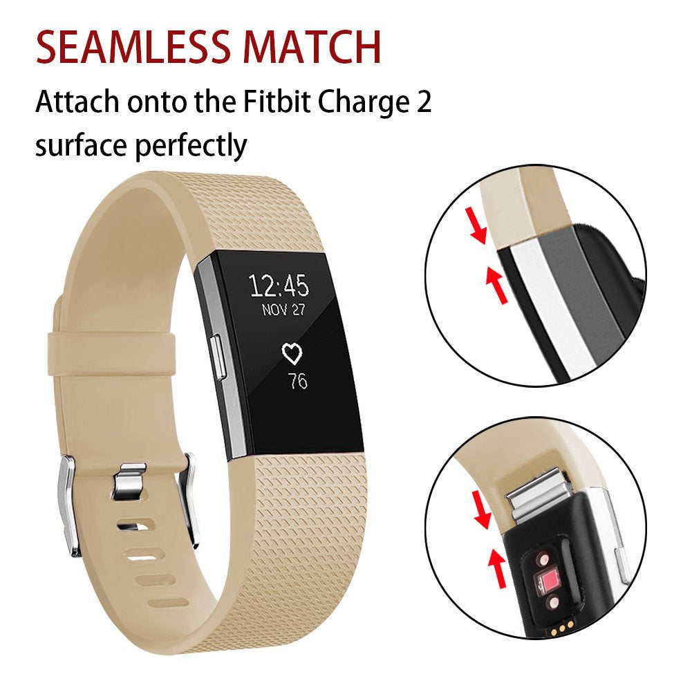 Adjustable Replacement Sport Strap Smartwatch Fitness Wristbands for Fitbit Charge 2 Fitness Tracker
