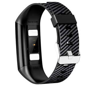 Smart Bracelet Band With Heart rate Monitor ECG Blood Pressure IP68
